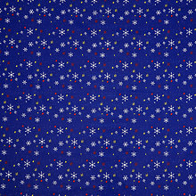 Buy John Lewis Man on the Moon Stars PVC Tablecloth Fabric, Blue Online at johnlewis.com