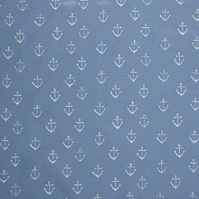Buy John Lewis Anchors PVC Tablecloth Fabric, Blue Online at johnlewis.com