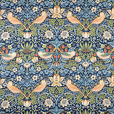 Morris & Co Strawberry Thief Furnishing Fabric