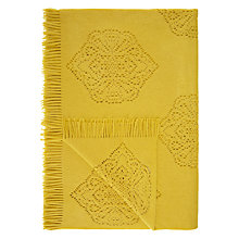 Buy John Lewis Fusion Laser Cut Throw Online at johnlewis.com
