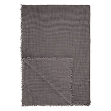 Buy John Lewis Linen Waffle Throw Online at johnlewis.com