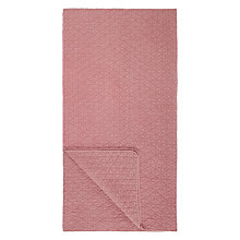 Buy John Lewis Geometric Throw, Berry Online at johnlewis.com