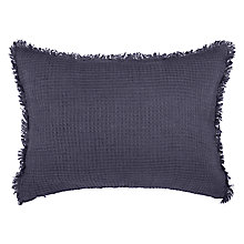 Buy John Lewis Linen Waffle Cushion Online at johnlewis.com