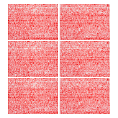 John Lewis Whitstable Placemats, Set of 6