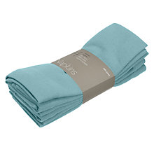 Buy John Lewis Dalston Napkins, Set of 4 Online at johnlewis.com