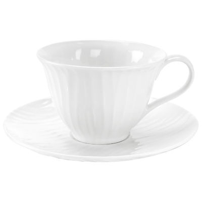 Sophie Conran White Oak Teacup and Saucer