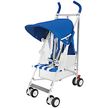 Buy Maclaren B-01 50th Anniversary Buggy, Blue Online at johnlewis.com
