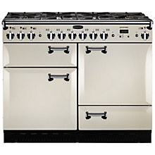 Buy Rangemaster Leckford 110cm Dual Fuel Range Cooker Online at johnlewis.com