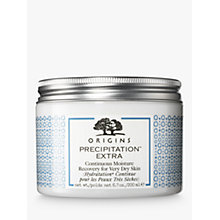 Buy Origins Precipitation Extra Continuous Moisture Recovery For Very Dry Skin, 250ml Online at johnlewis.com
