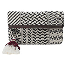 Buy East Tapestry Clutch Bag, Multi Online at johnlewis.com