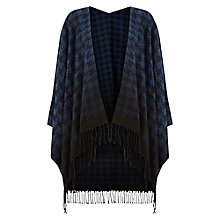 Buy Hobbs Alison Dogtooth Cape Online at johnlewis.com