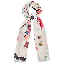 Buy Phase Eight Florence Print Scarf, Multi Online at johnlewis.com