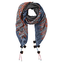 Buy East Ella Print Silk Scarf, Multi Online at johnlewis.com