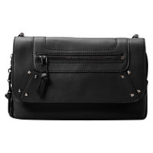 Buy Mango Stud Detail Across Body Bag, Black Online at johnlewis.com