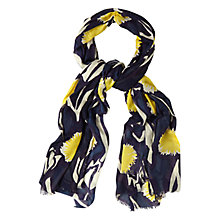 Buy White Stuff Lou Lou Print Scarf, Navy/Multi Online at johnlewis.com