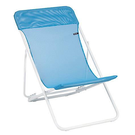 buy lafuma maxi transat deckchair john lewis. Black Bedroom Furniture Sets. Home Design Ideas