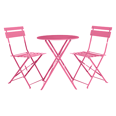 House by John Lewis Brighton Bistro Outdoor Table and Chair Set