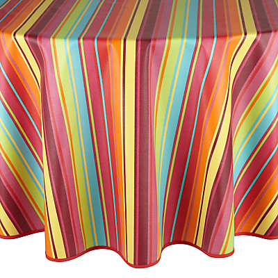 John Lewis Samba Wipe Clean Round Tablecloth