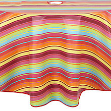 Buy John Lewis Samba Wipe Clean Round Garden Tablecloth Online at johnlewis.com