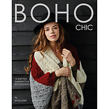 Buy Rowan Boho Chic by Emily Platt Knitting Pattern Book Online at johnlewis.com