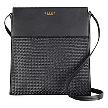 Buy Radley Golborne Road Large Across Body Bag, Black Online at johnlewis.com