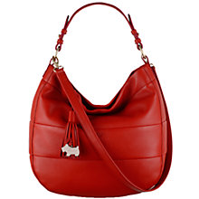 Buy Radley Kingly Road Leather Multiway Bag, Red Online at johnlewis.com