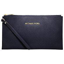 Buy MICHAEL Michael Kors Jet Set Travel Medium Zip Clutch Bag Online at johnlewis.com