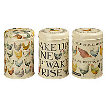 Buy Emma Bridgewater Hens Caddies, Set of 3 Online at johnlewis.com