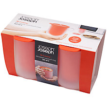 Buy Joseph Joseph M-Cuisine Microwave Cool-Touch Mugs, Set of 2 Online at johnlewis.com