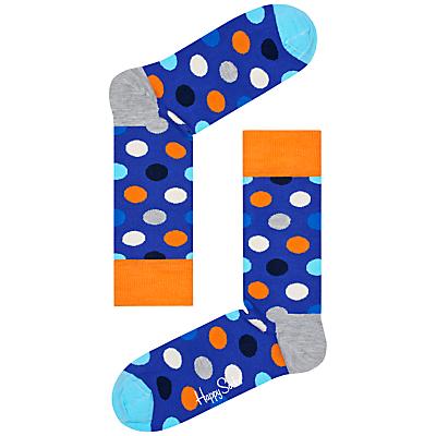 Happy Socks Big Dot Socks, One Size
