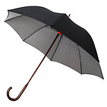 Buy London Undercover Houndstooth Classic Umbrella, Black/White Online at johnlewis.com