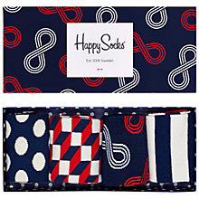 Buy Happy Socks Big Dot Gift Box, One Size, Pack of 4, Multi Online at johnlewis.com