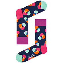 Buy Happy Socks Spectrum Socks, One Size, Multi Online at johnlewis.com