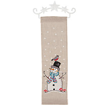 Buy Rico Christmas Snow Man Hanging Embroidery Kit Online at johnlewis.com