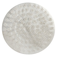 Buy John Lewis Fusion Etched Coaster, Persia Online at johnlewis.com