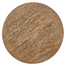Buy John Lewis Coastal Wood Coaster Online at johnlewis.com