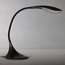 Buy John Lewis Curve LED Table Lamp, Black Online at johnlewis.com