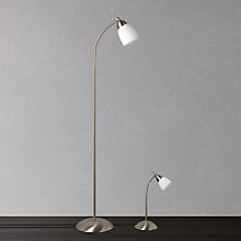 Buy John Lewis Contact Table and Floor Lamp Duo, Chrome Online at johnlewis.com