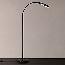 Buy John Lewis Curve LED Floor Lamp, Black Online at johnlewis.com