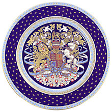 Buy Royal Collection Longest Reigning Monarch Plate Online at johnlewis.com