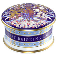Buy Royal Collection Longest Reigning Monarch Pillbox Online at johnlewis.com