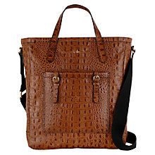 Buy Tula Everglade Original Multiway Leather Bag, Tan Online at johnlewis.com