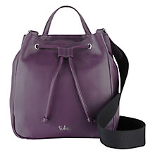 Buy Tula Nappa Originals Medium Drawstring Bucket Bag Online at johnlewis.com