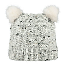 Buy Barts Poukie Beanie, One Size, Cream Online at johnlewis.com