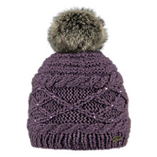 Buy Barts Claire Beanie, One Size, Purple Online at johnlewis.com