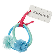 Buy Rockahula Glitter Chiffon Pom Pom Hair Bobbles Online at johnlewis.com