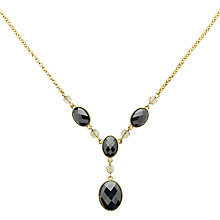 Buy Monet Hematite Y Necklace, Gold Online at johnlewis.com