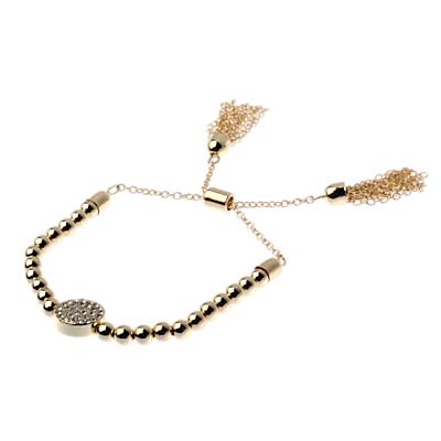 Adele Marie Beaded Tassel Detail Bracelet