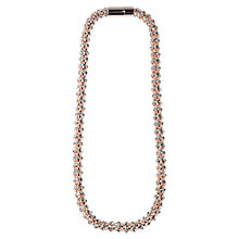 Buy Adele Marie Magnetic Catch Chain Necklace, Rose Gold Online at johnlewis.com