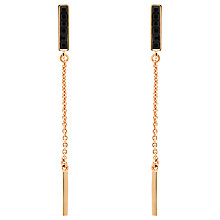 Buy Melissa Odabash Swarovski Crystal Chain Drop Earrings Online at johnlewis.com